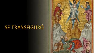 Evangelio según Marcos 9, 2-10: Se Transfiguró