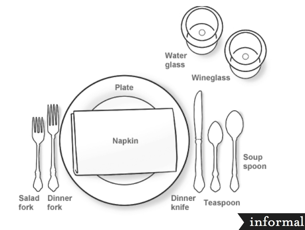 table setting coloring pages - photo #15