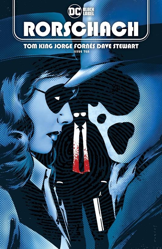 Cover of Rorschach #10