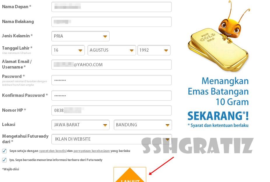 Cara Mendapatkan Pulsa Gratis All Operator Dari Mcent 2016   SSHGratiz