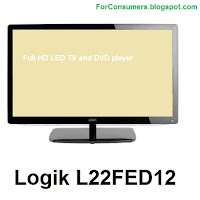 Logik L22FED12 TV DVD combo