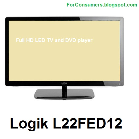 Logik L22FED12 cheap 22-inch Full HD LED TV and DVD player