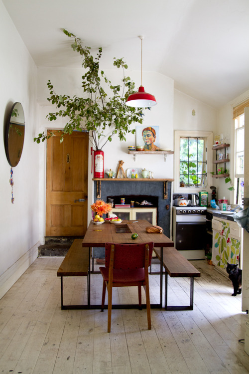Small on a space but big on style and plants- design addict mom