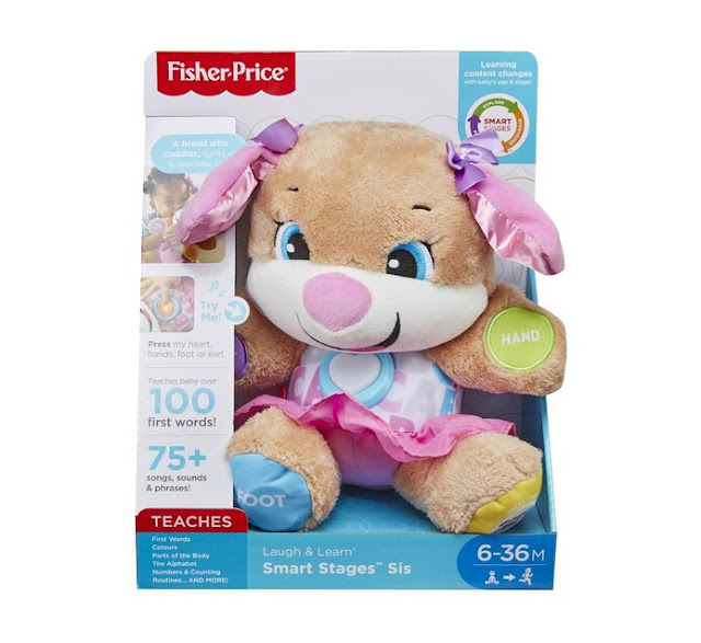 @FisherPrice Introduces Laugh and Learn® Smart Stages™ Puppy & Sis #FisherPricePuppyAndSis