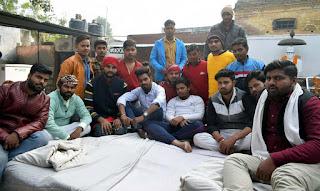 Jaunpur : चुनाव तिथि घोषित न होने पर अब सड़क पर उतरेंगे छात्र: ऋषि यादव