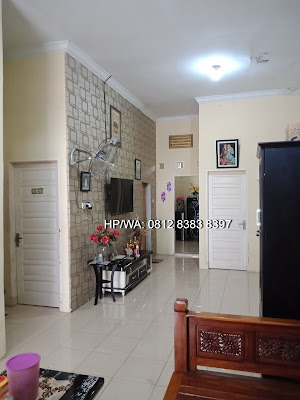 Ruang keluarga Rumah murah minimalis 620 Juta Di Komplek TPI Ring Road Medan Sumatera Utara