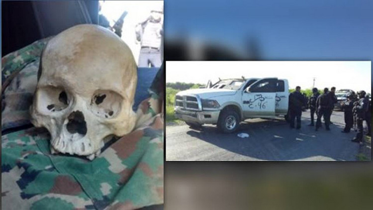 Se desata fuerte pelotera entre Estatales y convoy de sicarios que rafaguearon a los elementos cuanto emprendieron la huir en Tamaulipas
