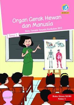 Buku Tematik Kelas 5 SD/MI Kurikulum 2013 Revisi 2018