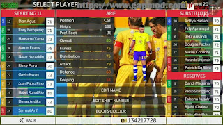 Download FTS 18 Mod Sriwijaya FC v2 by Reksi Apk + Data Obb