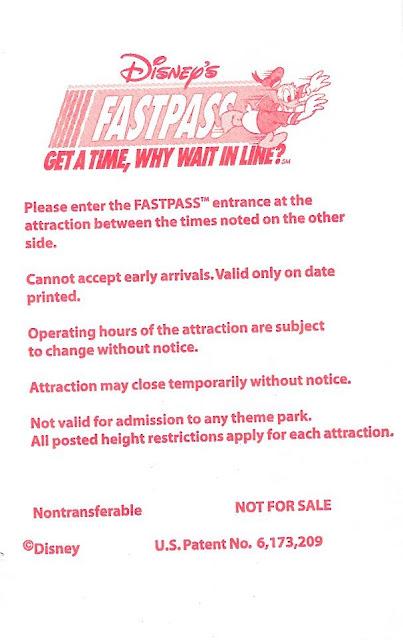 Please Enter the Fastpass Entrance
