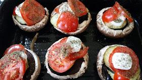 portobello in de oven