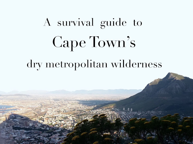 Water saving tips for visitors to Cape Town