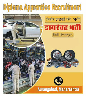 Quess Corp Ltd Job Opening for Diploma Apprentice in Reputed Automotive Industry Waluj Aurangabad, Maharashtra