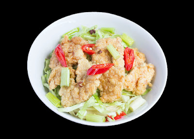 Chinese food - Oil chicken noodles