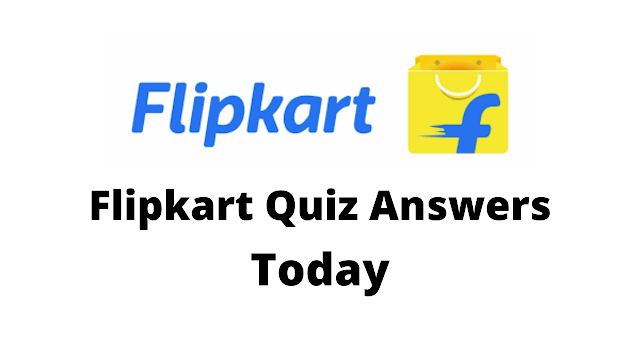 Flipkart Quiz Answers