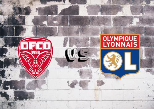 Dijon FCO vs Olympique Lyonnais  Resumen