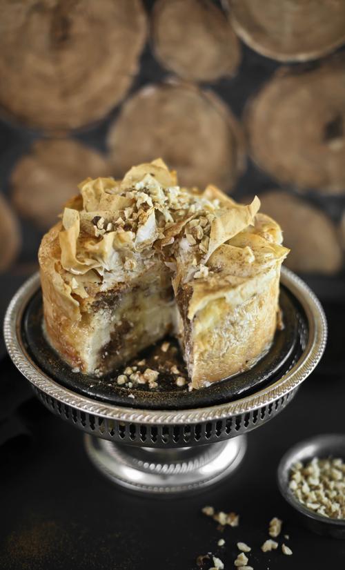 Baklava Cheesecake Sprinkle Bakes