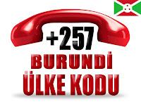 +257 Burundi ülke telefon kodu