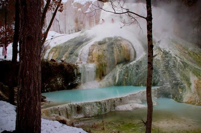 Bagni San Filippo, il Fosso Bianco