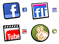 Download Smoothicons, icons for facebook and youtube among others