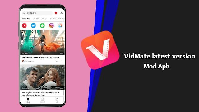 تحميل VidMate Mod APK   أحدث إصدار 2020