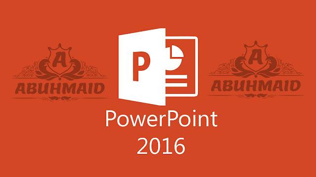 شرح وتحميل برنامج 2016 Powepoint باور بوينت 2016