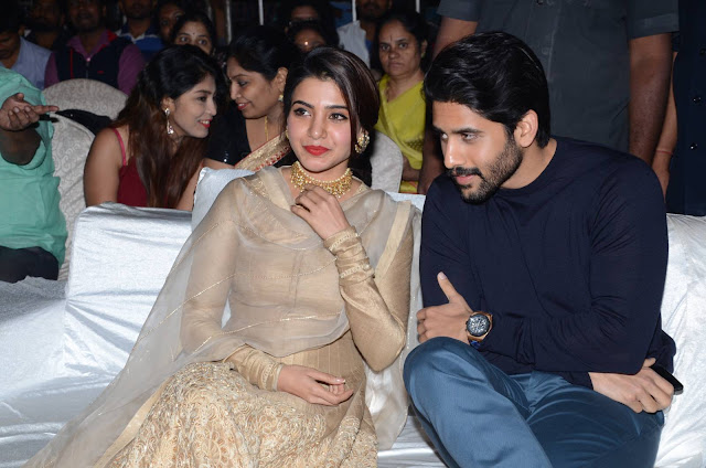 Actress Samantha Stills at Hello Movie Pre Release Event