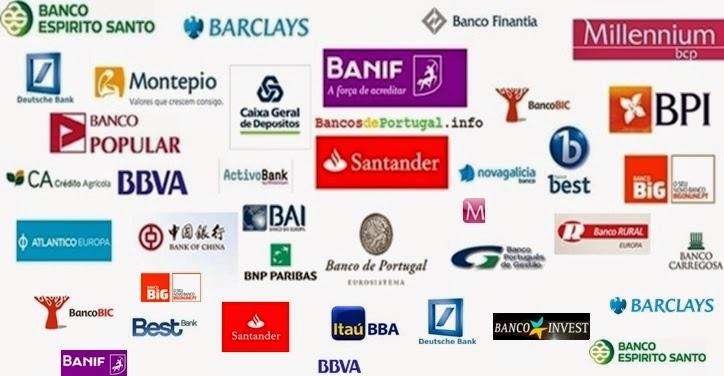 Image result for Os bancos portugueses