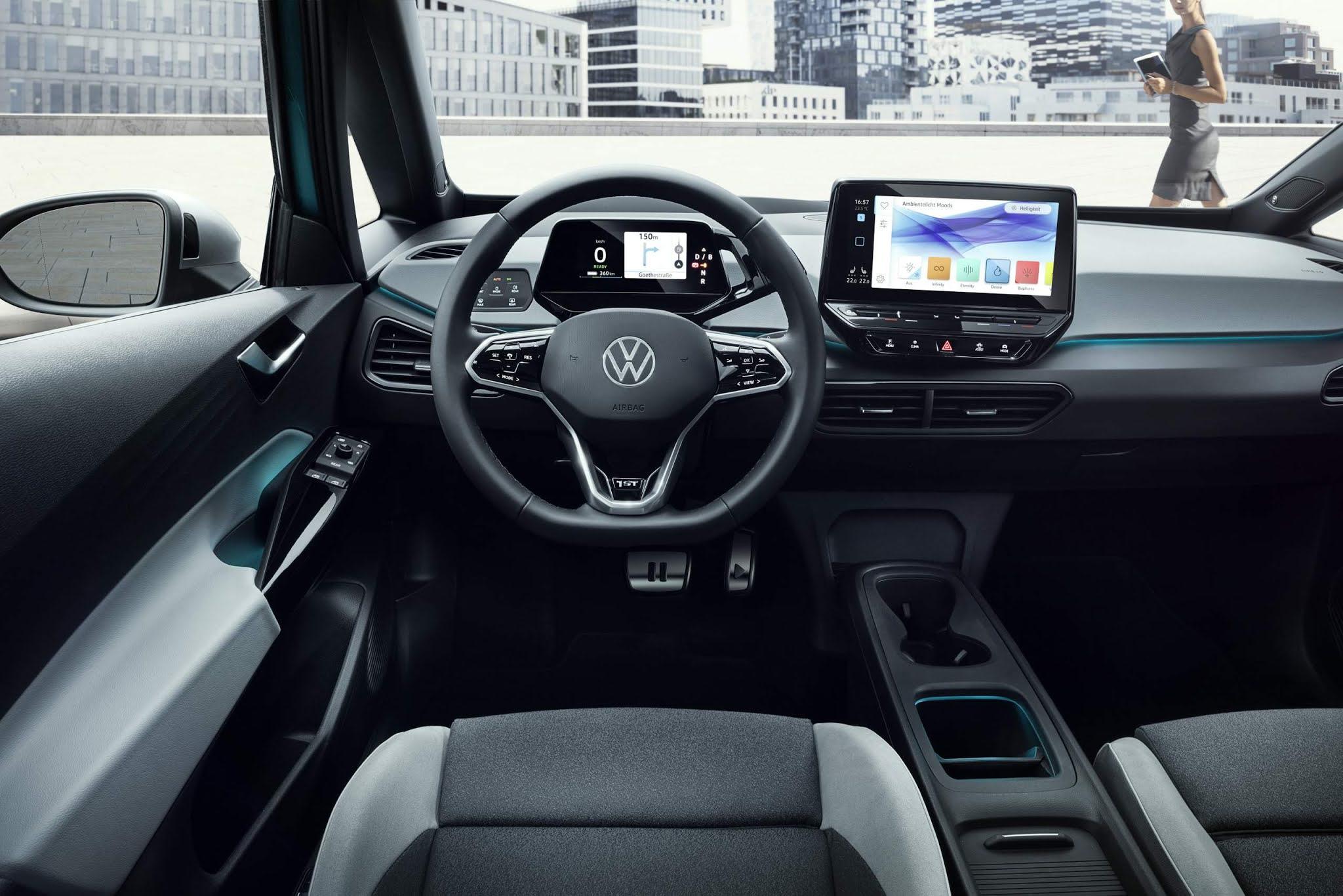 VW ID.3 foi o elétrico mais vendido da Europa em dezembro