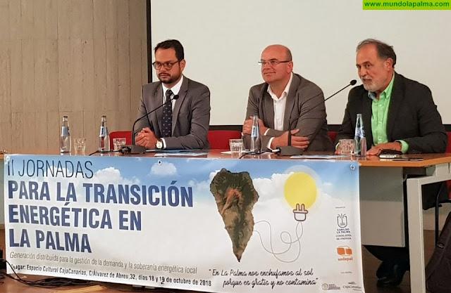 El Cabildo apuesta por un modelo energético con mayor protagonismo de ayuntamientos y ciudadanía