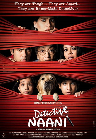 Poster Of Detective Naani 2009 Hindi 400MB HDRip 480p Free Download Watch Online