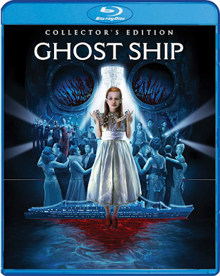 Cover art for Scream Factory's Collector's Edition Blu-ray of GHOST SHIP!