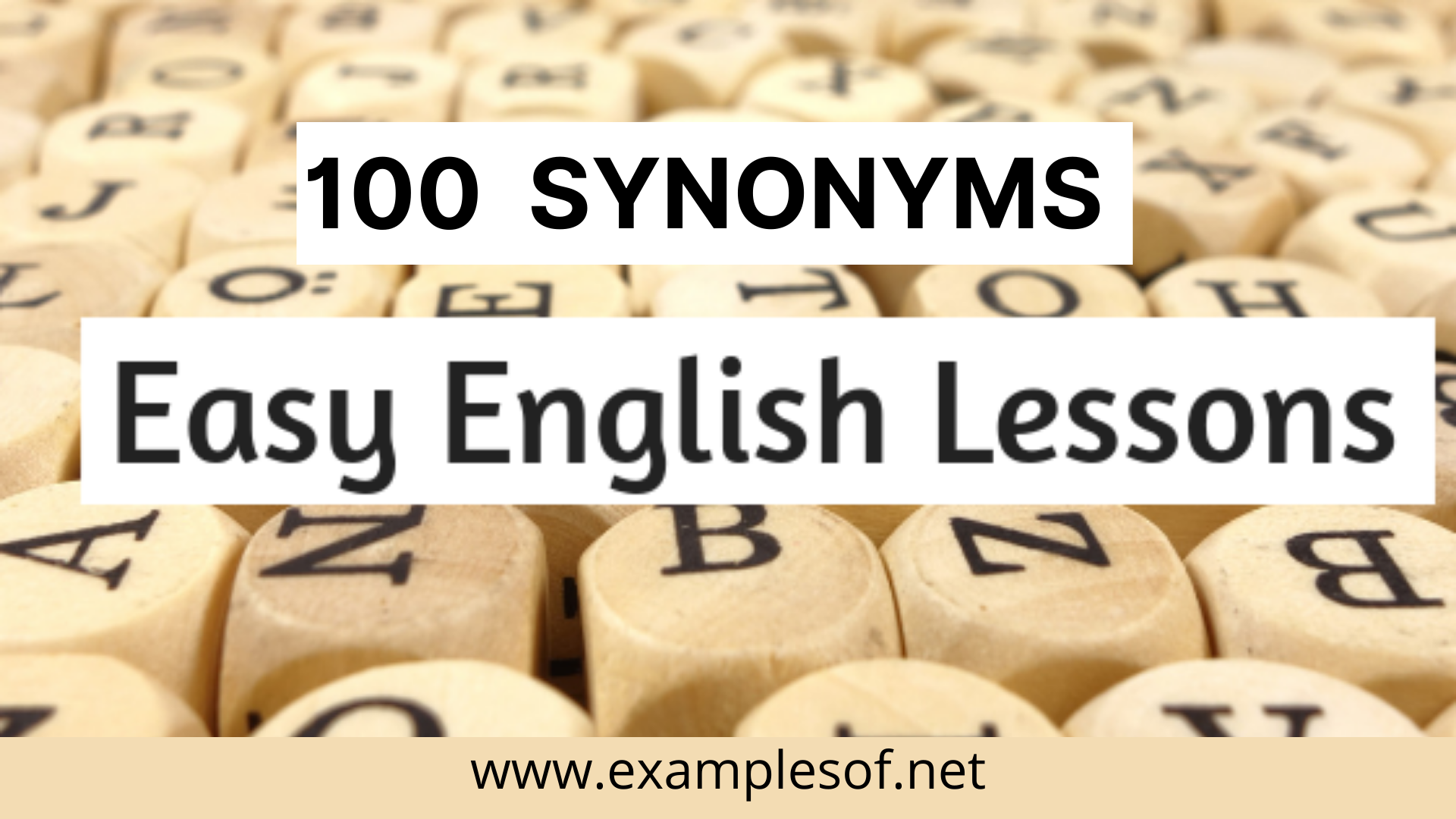 100 Synonyms