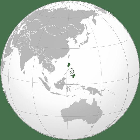 Letak negara Filipina