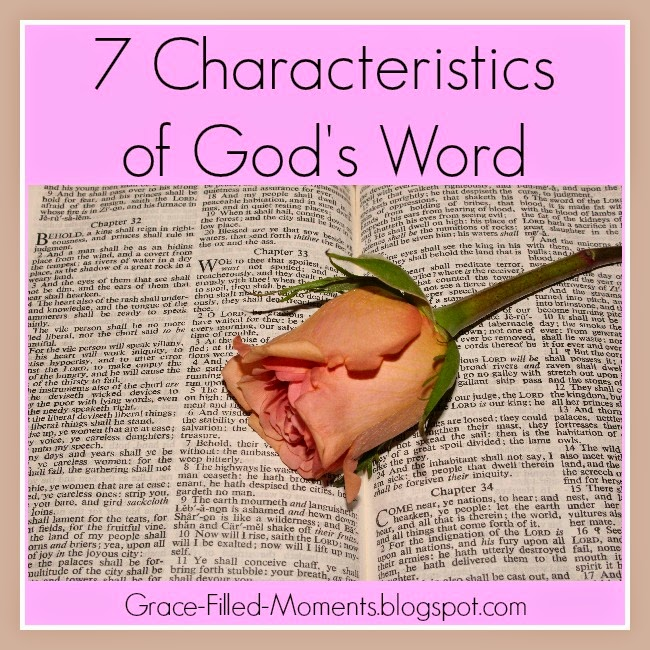 5 Characteristics Of Mid Century Modern Furniture: Grace-Filled-Moments : 7 Characteristics Of God's Word