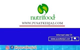 Lowongan Kerja PT Nutrifood Indonesia Oktober Tahun 2020