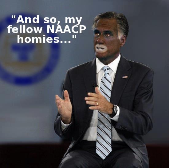 Political Memes: Mitt Romney: NAACP Speech
