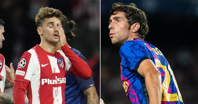Griezmann suffers same fate as Roberto, striker booed by Atleti fans at the Wanda