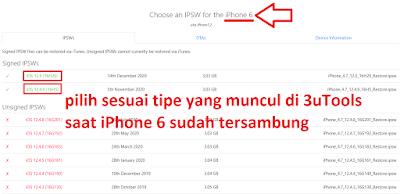 Flash iPhone 6 via 3uTools offline