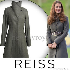 Kate Middleton Style REISS Angel Coat