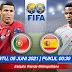Prediksi Bola Spanyol vs Portugal 05 Juni 2021