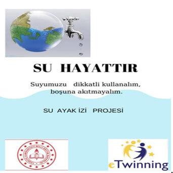 """""""Su Ayak İzi"""" eTwinning Projesi"""