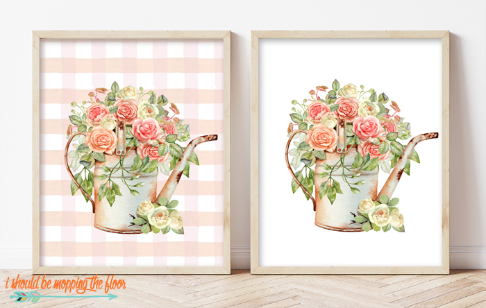 Watering Can Printable