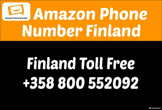 Amazon Contact Number Finland