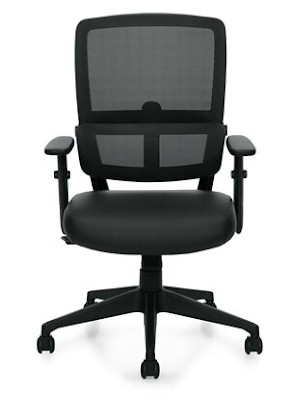 home office chair with lumbar support