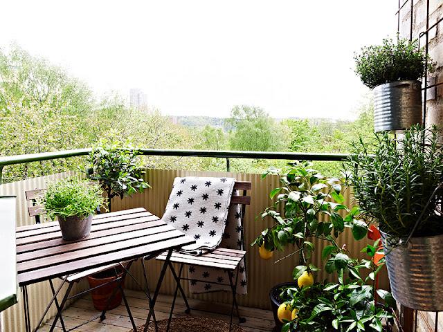 La guarida de bam terrazas y balcones for Terrazas pequenas bonitas