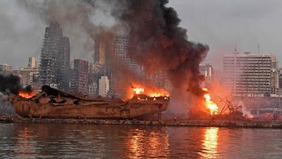 l'explosion meurtrière au port de Beyrouth