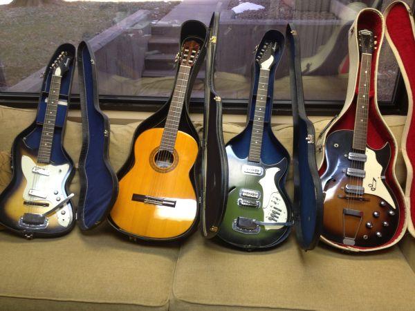 Craigslist Vintage Guitar Hunt: Harmony Bobcat, Rebel and ...