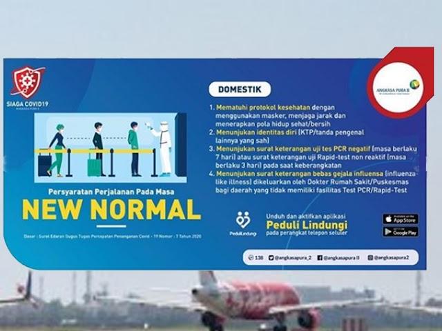Ini Protokol bagi Para Calon Penumpang di Bandara Husein Sastranegara