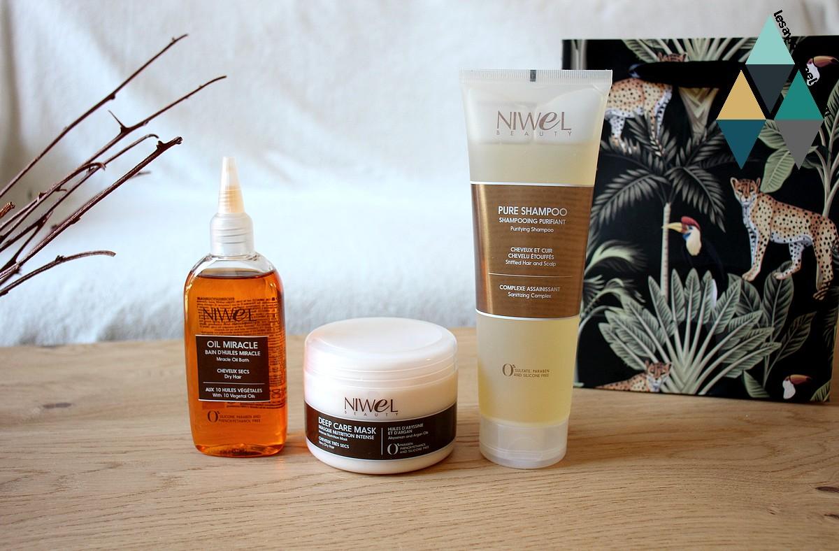 avis et test soins capillaires essentiels cheveux texturés niwel